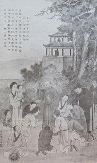 Błogosławiony Odoryk naucza chińskich chrześcijan