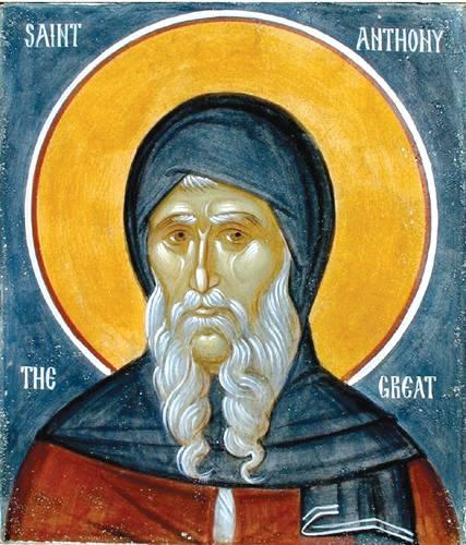 Święty Antoni iśw.Paweł zTeb