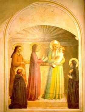 Fra Angelico: Ofiarowanie Chrystusa w świątyni