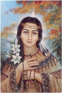 Święta Katarzyna Tekakwitha