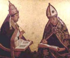 Św. Augustyn z Canterbury i św. Grzegorz Wielki