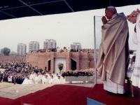 Św. Jan Paweł II podczas Mszy św. w Lublinie, 9 czerwca 1987 r.