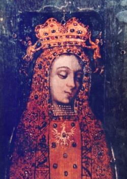 Wizerunek Matki Bożej Licheńskiej (bez koron)