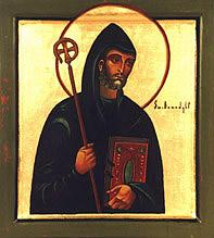 Święty Benedykt z Nursji