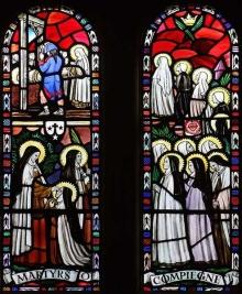 Błogosławione męczennice z Compiegne