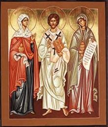 Święte rodzeństwo z Betanii: Marta, Łazarz i Maria