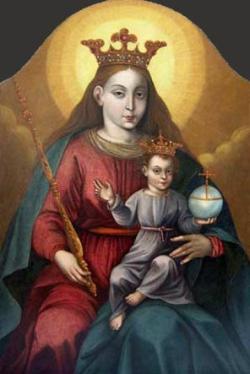 Wizerunek Matki Bożej z Kalwarii Pacławskiej