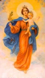 Wizerunek Matki Bożej Zwycięskiej z konkatedry na Kamionku