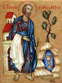 Święty Józef z Arymatei i święty Graal