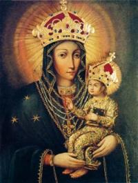 Wizerunek NMP Matki Pocieszenia z Orchówka