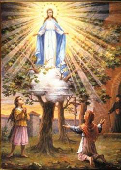 Maryja ukazuje się dzieciom w Gietrzwałdzie