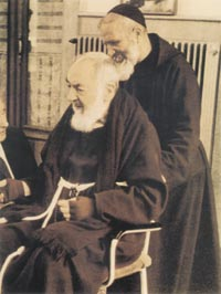 Ojciec Pio niedługo przed śmiercią