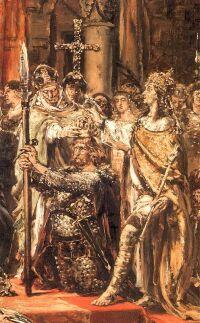 Błogosławiony Radzim, Bolesław Chrobry i Otto III