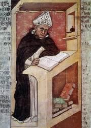 Tomasso da Modena: Święty Albert Wielki